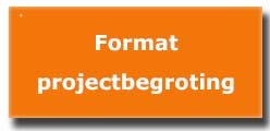 format projectbegroting