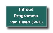 Programma van Eisen (PvE) inhoud