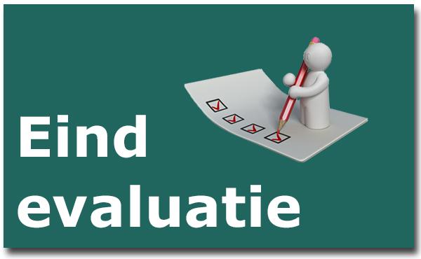 projectevaluatie eind evaluatie